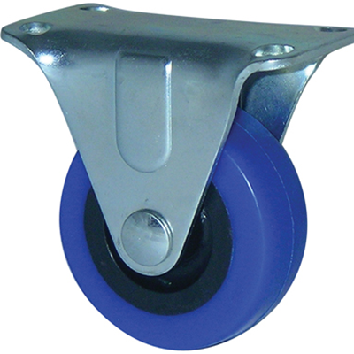 Budget Range – Blue Rubber Castors Fixed