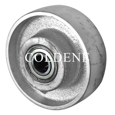 Cast Iron Wheel –  Ball Bearing