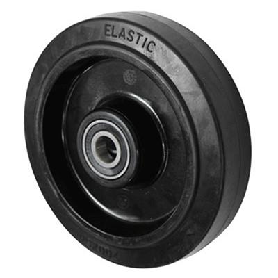 Black Elastic Rubber