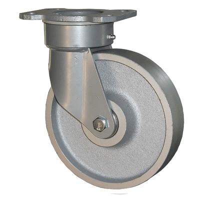 Fabricated Castors – Swivel Top Plate – Cast Iron Wheel