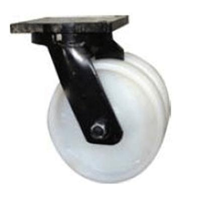 Twin Wheel Fabricated Castors – Swivel – Nylon Wheels