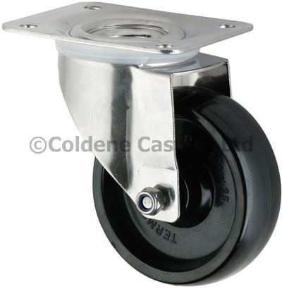Stainless Steel High Temperature Phenolic Resin Castors Swivel