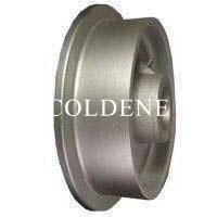 Solid Steel Flange Wheels