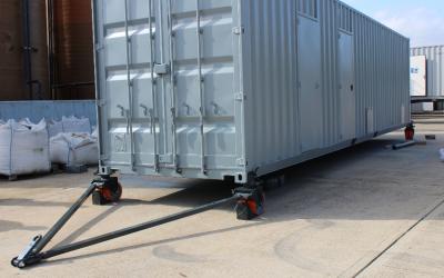24 Ton ISO Container Castors