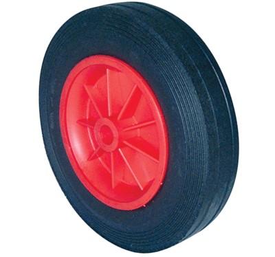 Plastic Centre Solid Rubber Wheels
