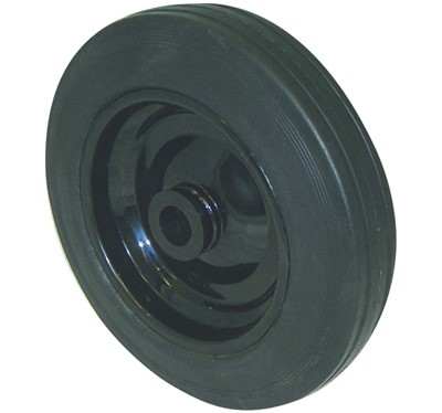 Steel Centre Solid Rubber Wheels