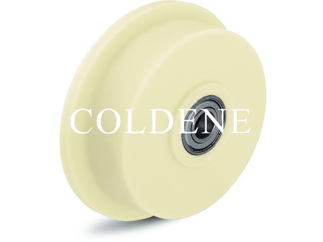 Cast Nylon Flange Wheels
