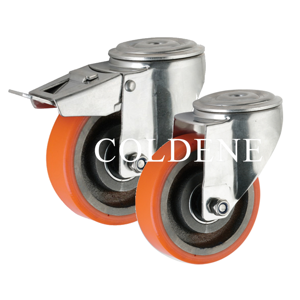 Polyurethane Tyre Cast Iron Centre