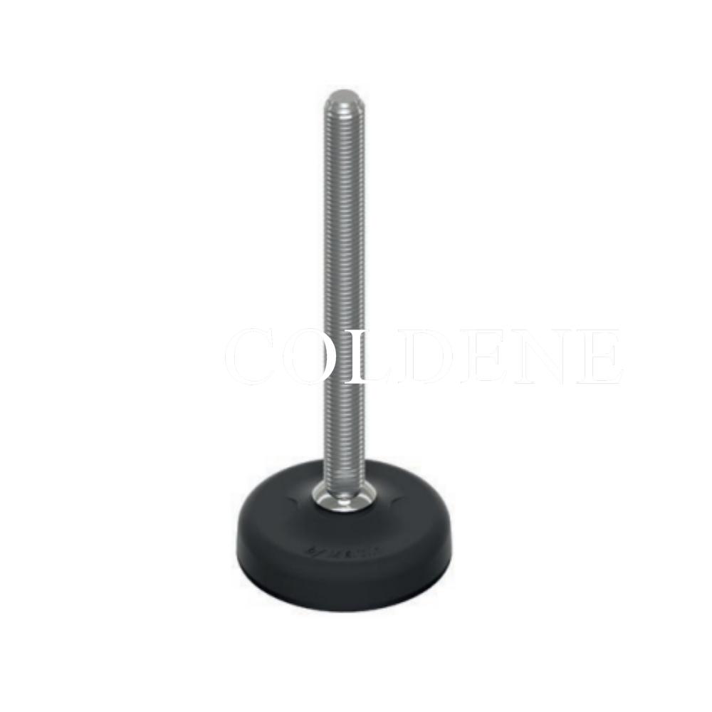 Stainless Steel Fully Threaded Stem – Plastic Base