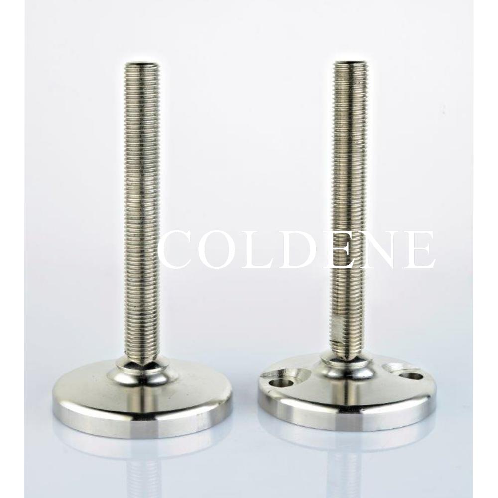 Conveyor Feet- Solid Base- Stainless Steel