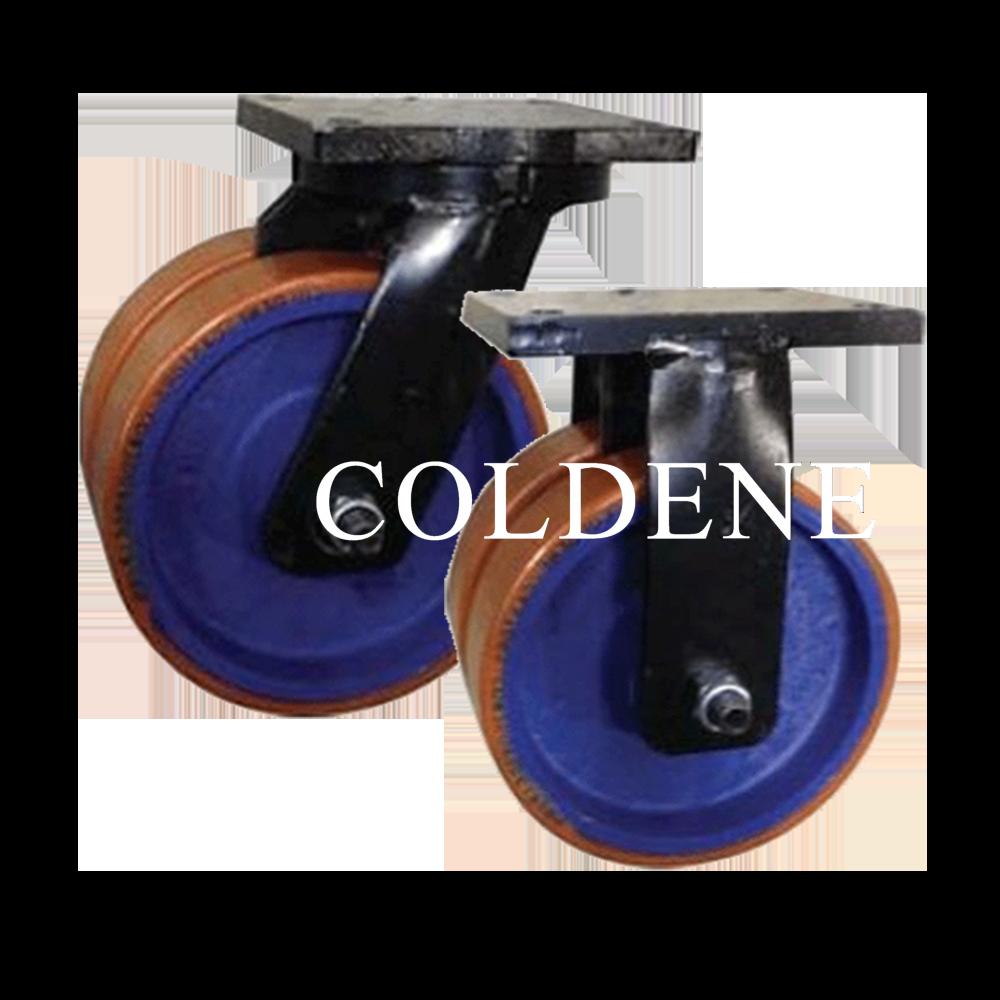 Twin Wheel Fabricated Castors