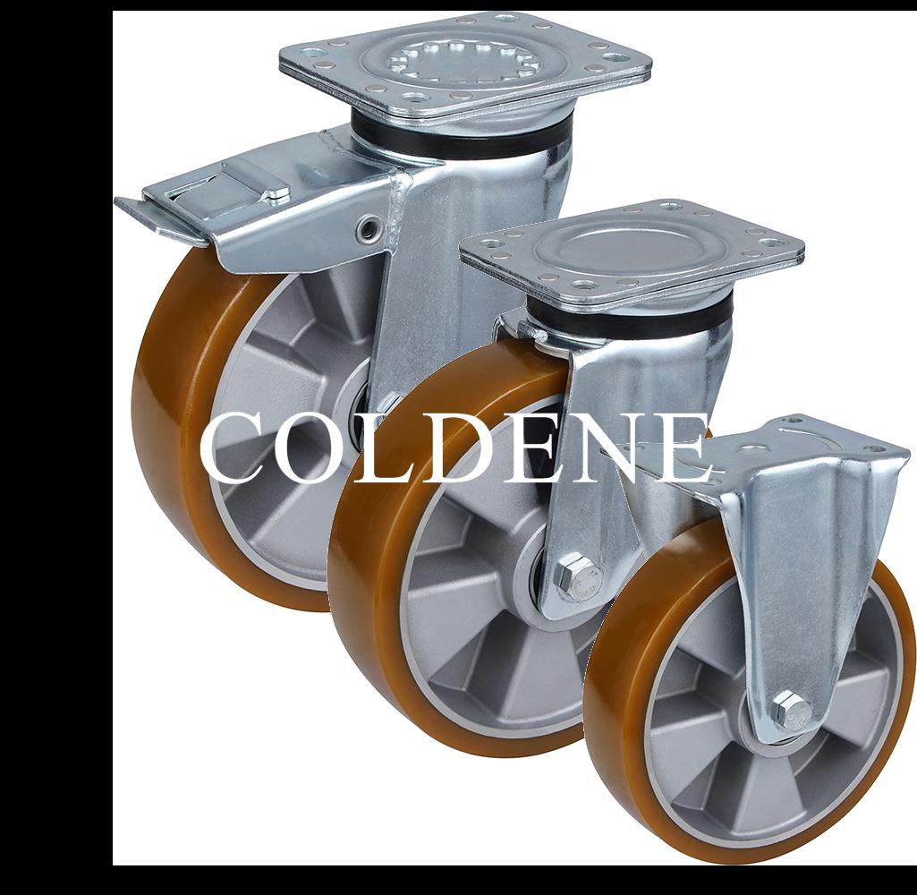 Polyurethane Tyre Aluminium Centre