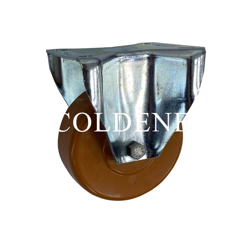High Temperature Epoxy Resin Ball Bearing Castors Fixed