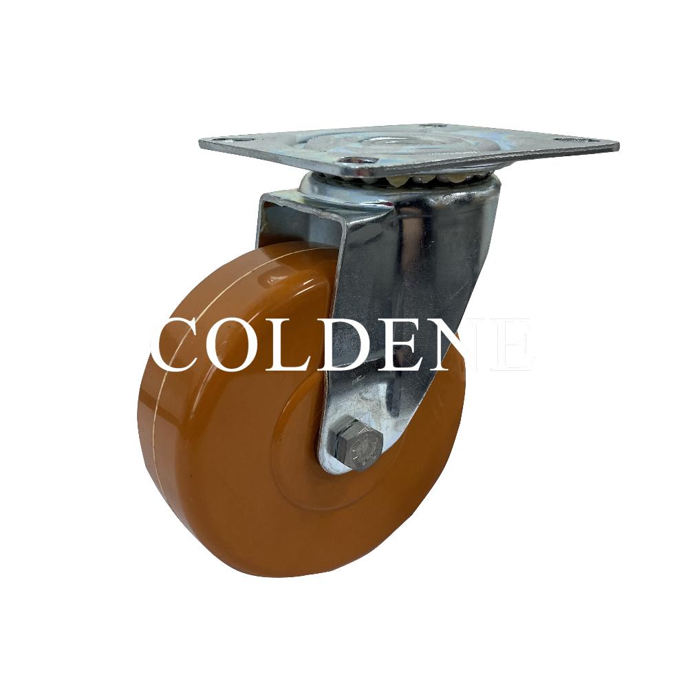 High Temperature Epoxy Resin Ball Bearing Castors Swivel